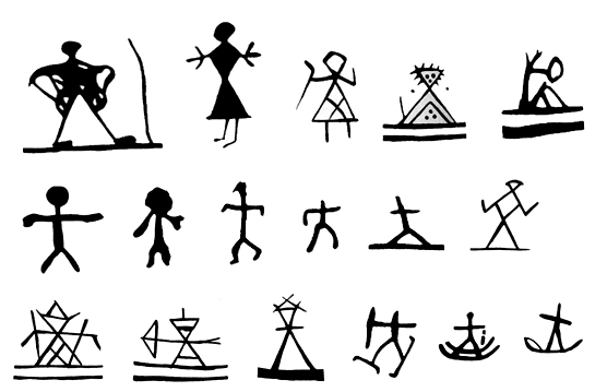 Shamans Drum Symbols In Scandinavia